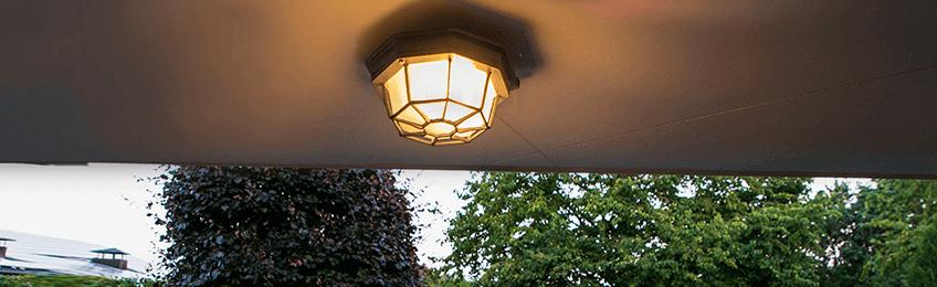 Udendørs loftslamper