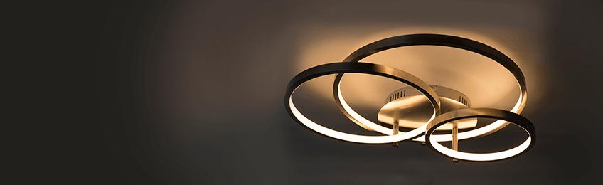 Flush loftlamper