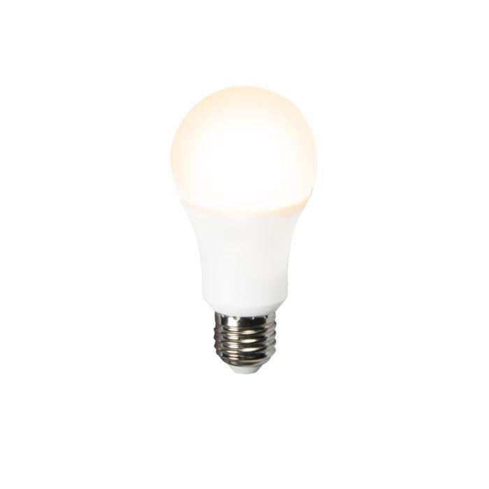 LED-lampe-A60-12W-E27-3000K-4-trins-dæmpbar