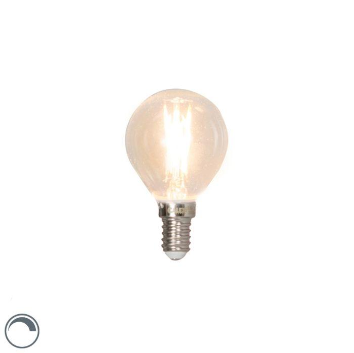 E14-dæmpbar-LED-glødelampe-3W-350lm-2700K