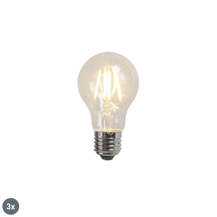 Filament-LED-lampe-A60-4W-2700K-klart-sæt-med-3