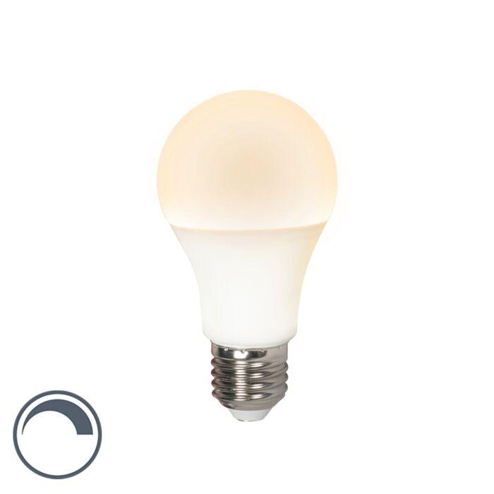 LED-lampe-E27-240V-12W-1200lm-A60-dæmpbar