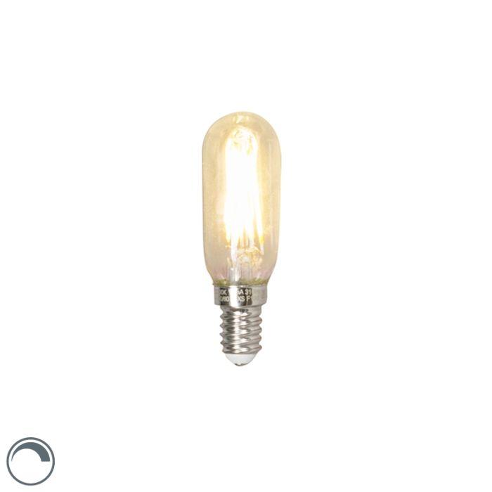 LED-glødelampe-rør-E14-240V-3,5W-310lm-T24-dæmpbar