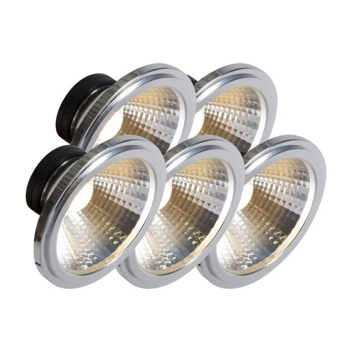 AR111-LED-lampe-COB-7W-24-°-sæt-med-5