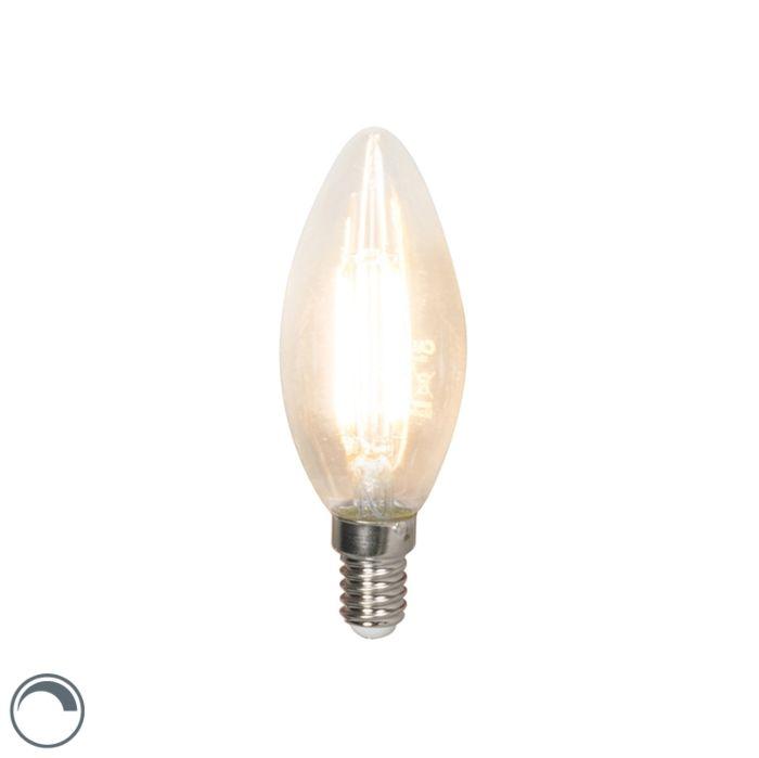 LED-glødelampe-E14-240V-3,5W-350lm-B35-dæmpbar