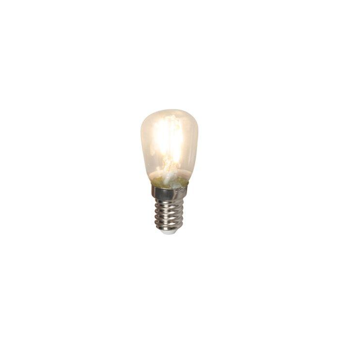 LED-glødelampe-E14-240V-1W-100lm-T26