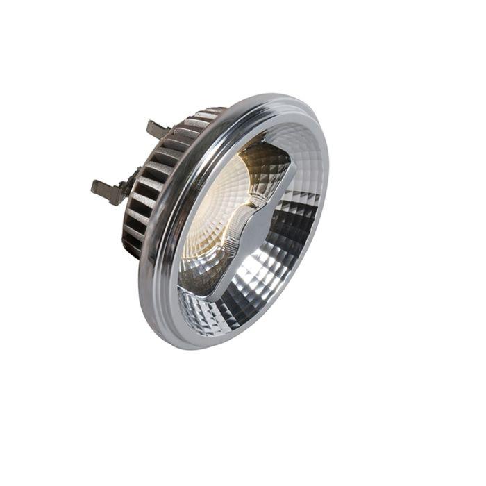 G53-AR111-LED-lampe-12W-36V-3000K-dæmpbar