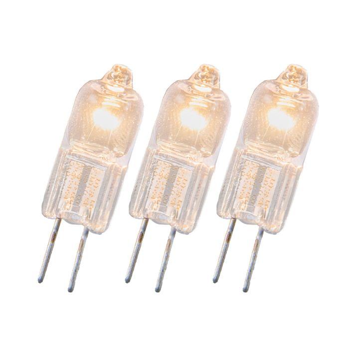 Halogenlampe-G4-20W-12V-sæt-med-3