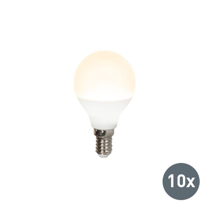 Sæt-med-10-LED-pærer-P45-E14-3W-3000K