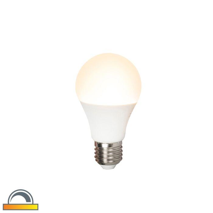 LED-lampe-E27-240V-7W-510lm-A60-dæmpbar