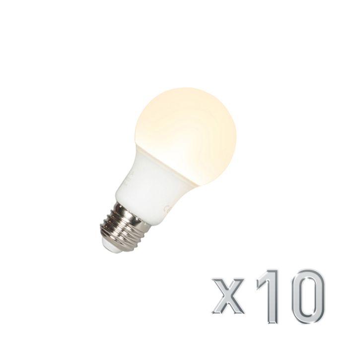 Sæt-med-10-LED-lampe-A60-E27-9W-3000K