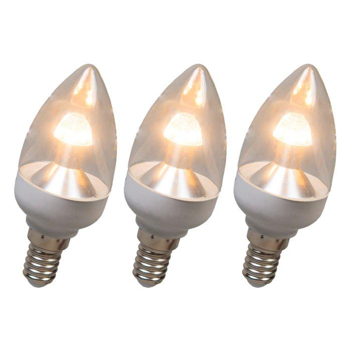 LED-stearinlys-E14-4W-250-lumen-varm-hvid-dæmpbar-sæt-på-3