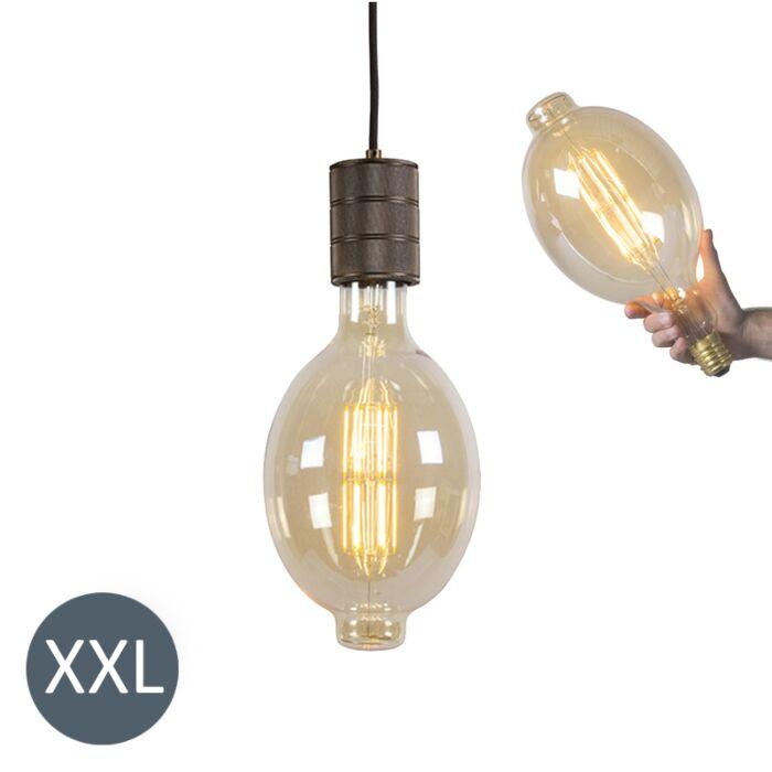 Hængelampe-Colosseum-med-dæmpbar-LED-lampe