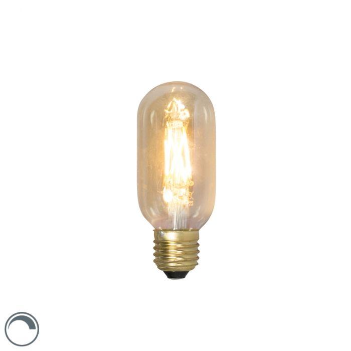 E27-dæmpbar-LED-glødelampe-rør-T45L-4W-320lm-2100-K.