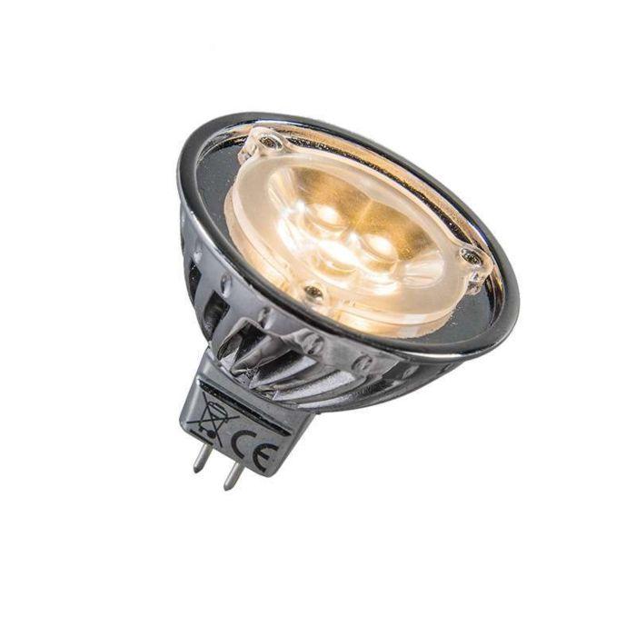Power-LED-12V-MR16-3-x-1W-=-ca.-30W-varm-hvid