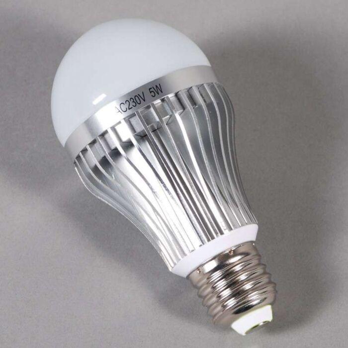 LED-glødelampe-E27---5W-=-45W-lys