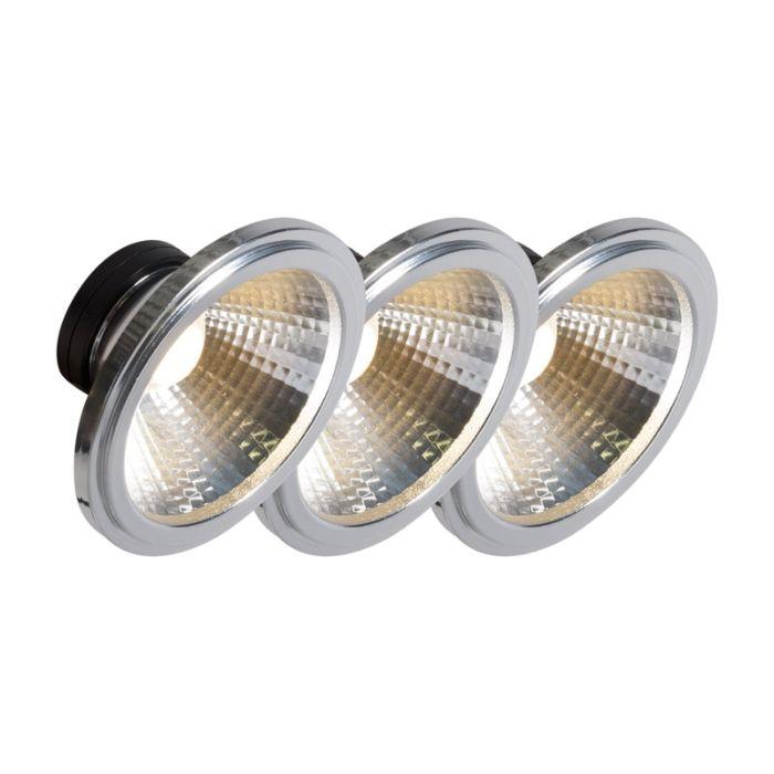 AR111-LED-lampe-COB-7W-24-°-sæt-med-3