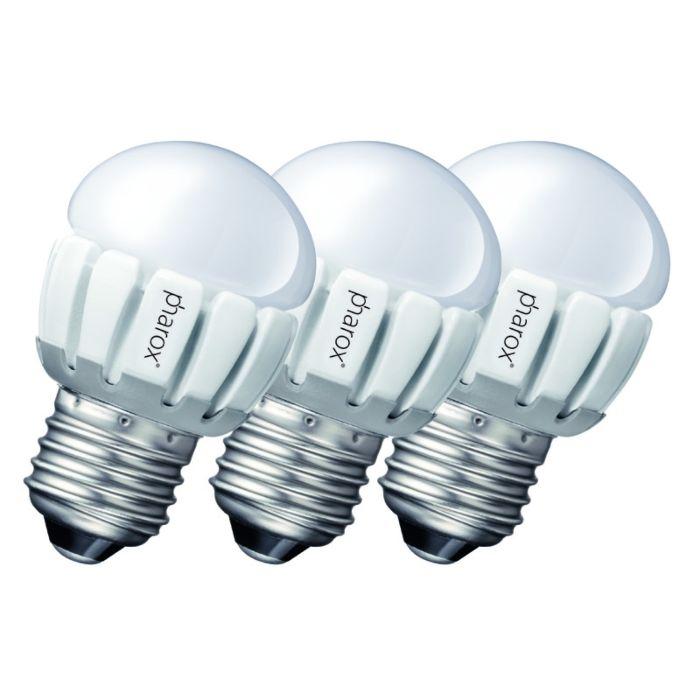 Sæt-med-3-Pharox-LED-200-P45-E27-5W-230V