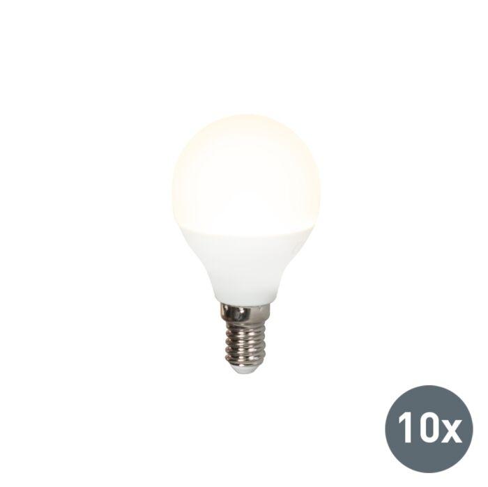 Sæt-med-10-LED-pærer-P45-E14-5W-3000K