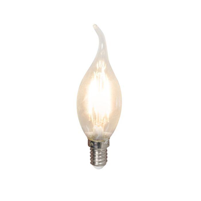 LED-glødelampe-E14-240V-3,5W-350lm-BXS35-dæmpbar
