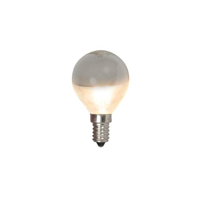 LED-glødelampe-kugle-lampe-hoved-spejl-E14-240V-4W-370lm