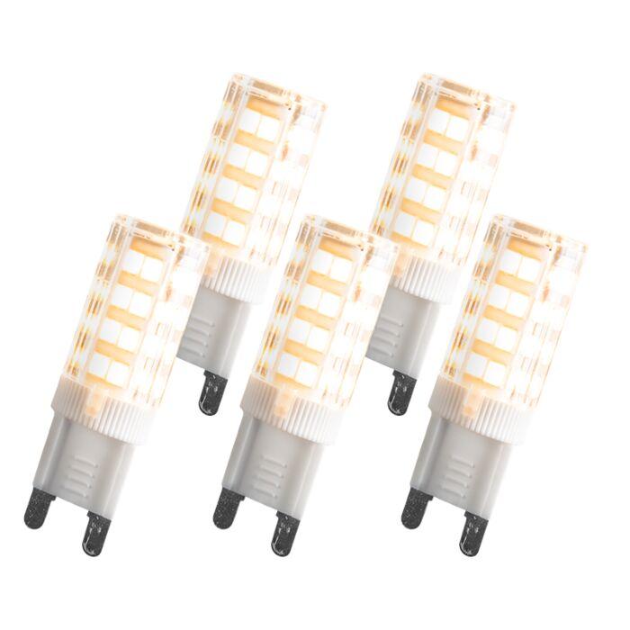 G9-LED-3,3-W-280-lumen-sæt-med-5