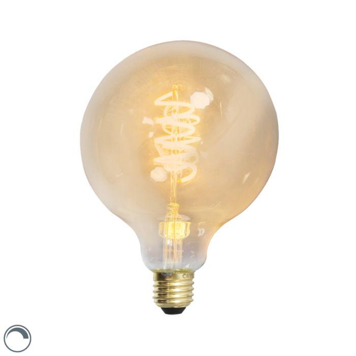 LED-snoet-glødelampe-globus-E27-240V-4W-200lm-dæmpbar