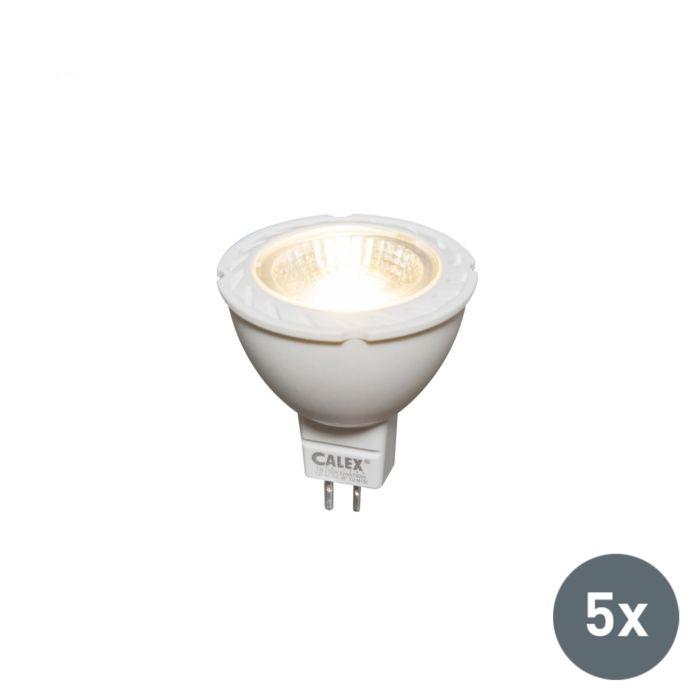 Sæt-med-5-LED-lampe-MR16-7W-550-lumen