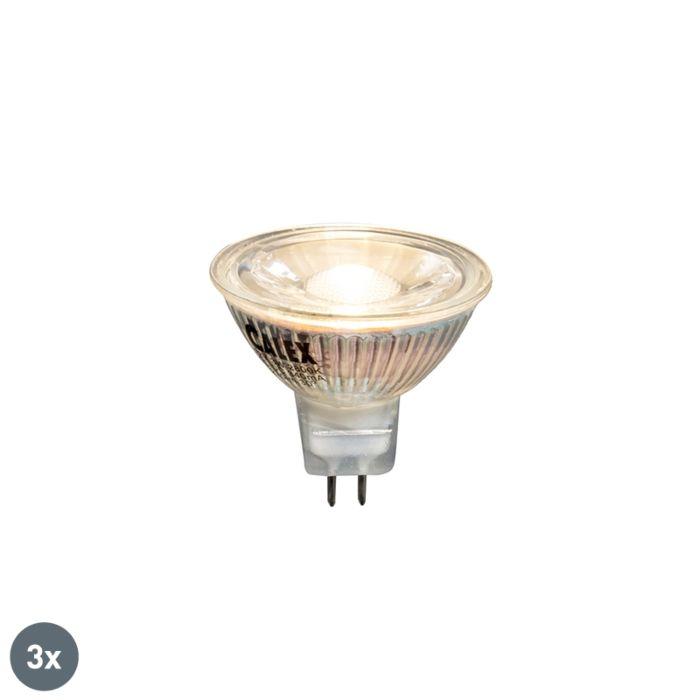 Sæt-med-3-LED-pærer-3W-230-lumen