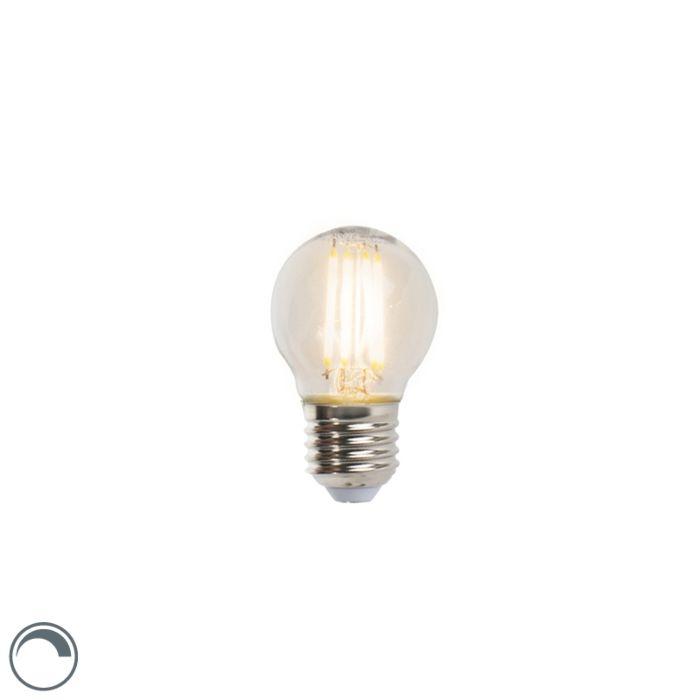 LED-glødelampe-E27-5W-470lm-P45-dæmpbar
