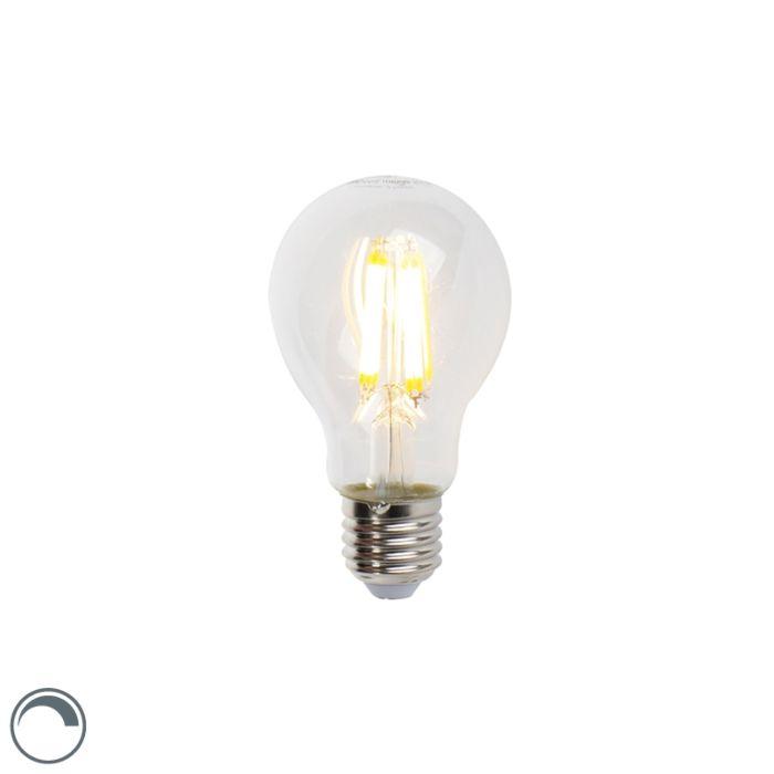 LED-glødelampe-E27-7W-806lm-A60-dæmpbar-klar