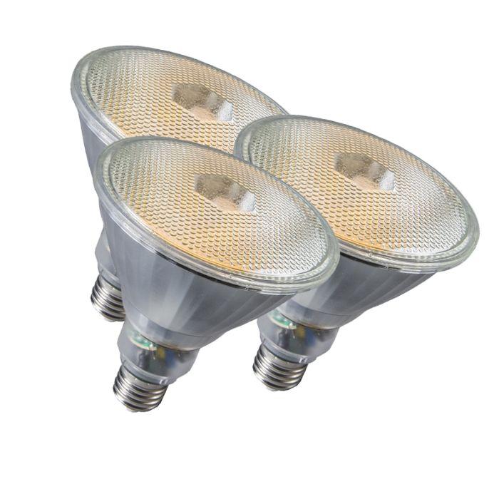 Sæt-med-3-lampe-Par38-E27-20W-800LM-2700K