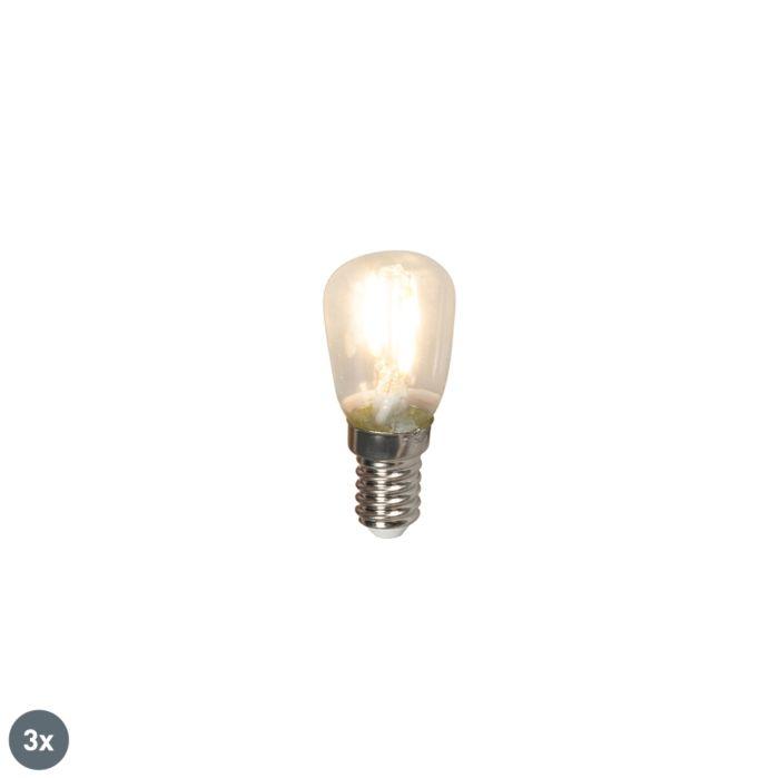 Sæt-med-3-E14-LED-glødelamper-T26-1W-100lm-2700-K.