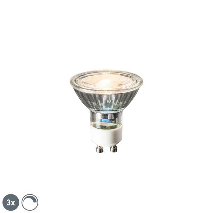 Sæt-med-3-GU10-LED-lamper-6W-450-lumen-2700K-dæmpbar
