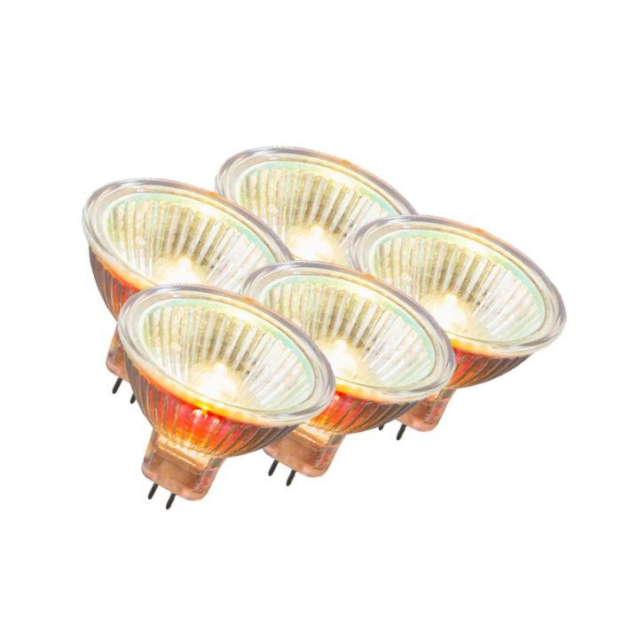 Sæt-med-5-halogen-MR16-12V-50W