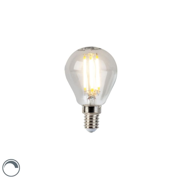 LED-glødelampe-E14-5W-470lm-P45-dæmpbar