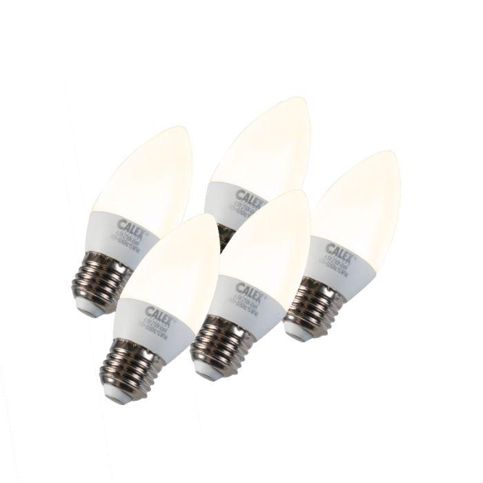 Sæt-med-5-stearinlys-LED-E27-5W-240V-2700K-dæmpbar