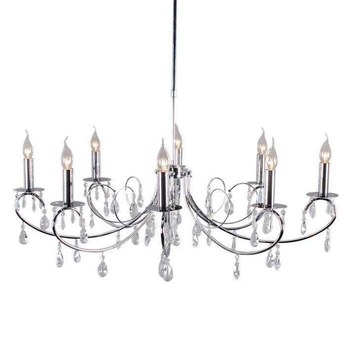 Hængelampe-Largo-sort