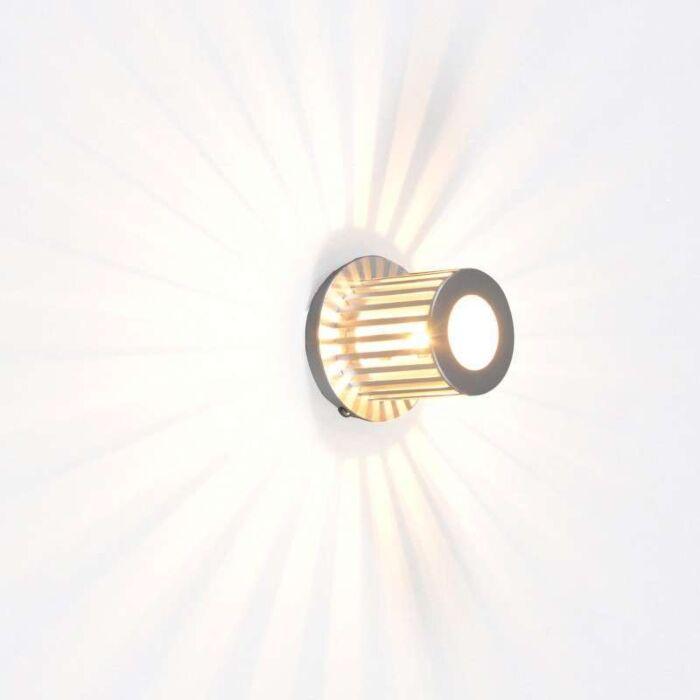 Væglampe-Ribb