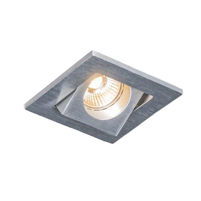 Indbygget-spot-Quale-firkantet-aluminium-LED