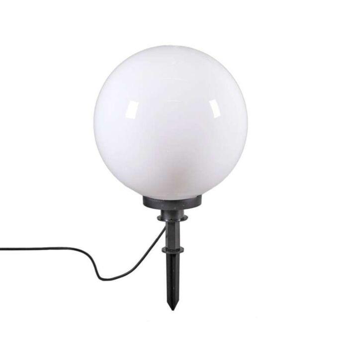 Moderne-udendørslampe-med-jordspids-50-cm-IP44---Kugle