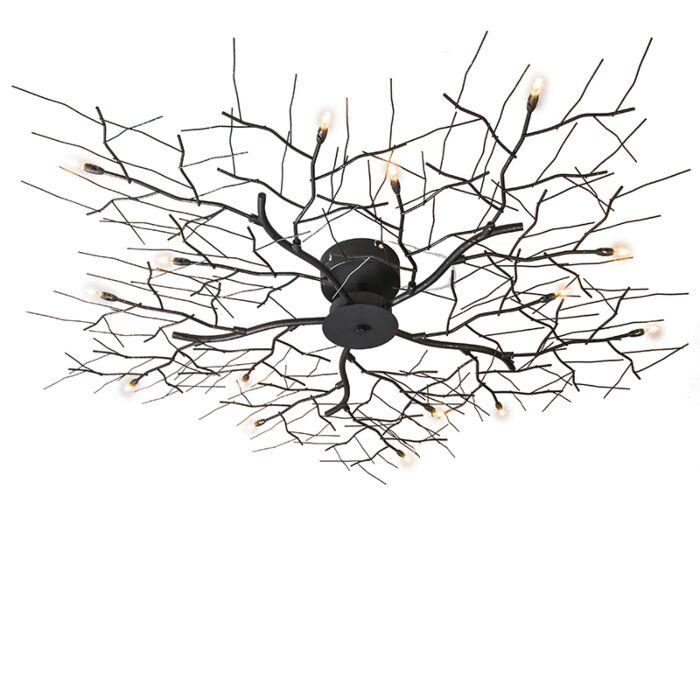 Loftlampe-Forest-15-rust