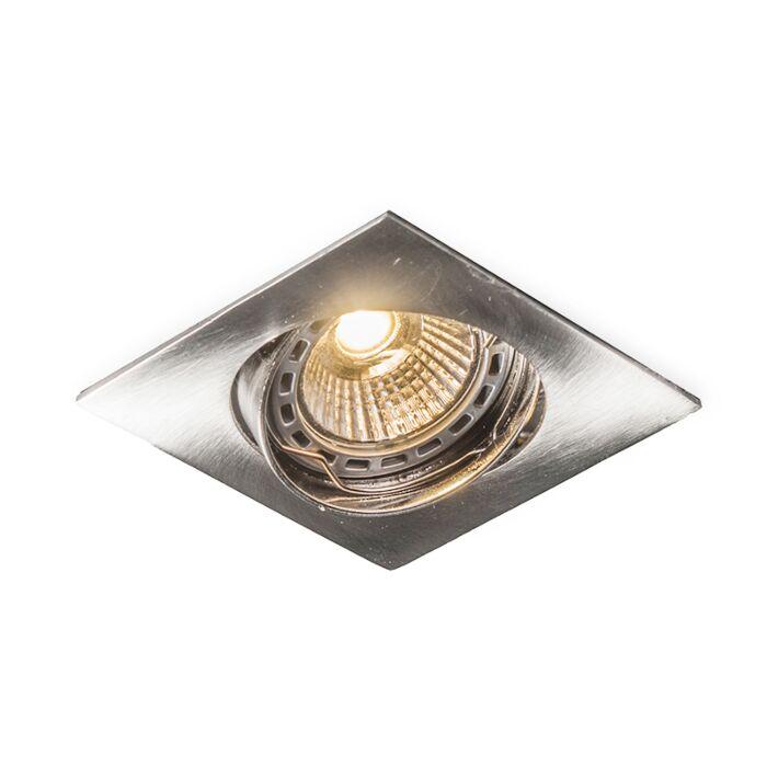 Led-forsænket-spot-Edu-vippeligt-firkantet-stål