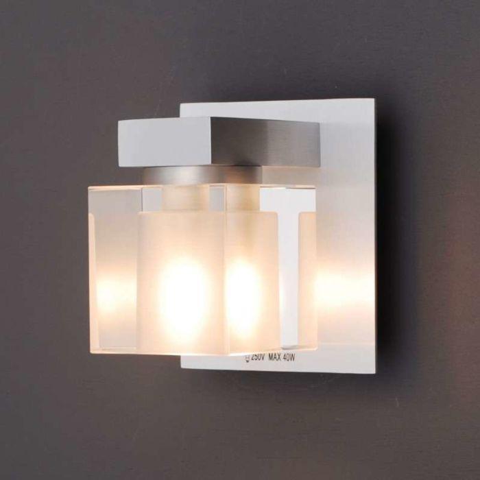 Væglampe-Terning-1-aluminium