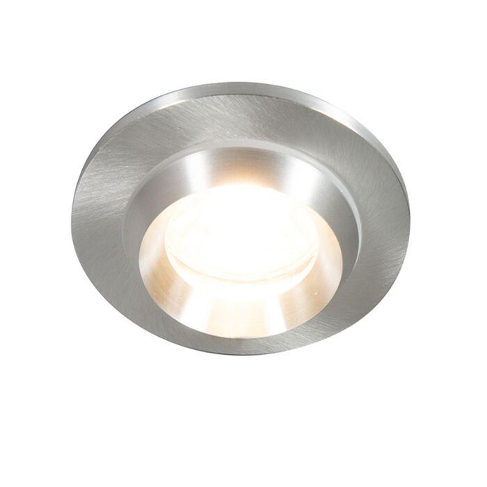 Moderne-forsænket-spot-aluminium-IP54---Spa