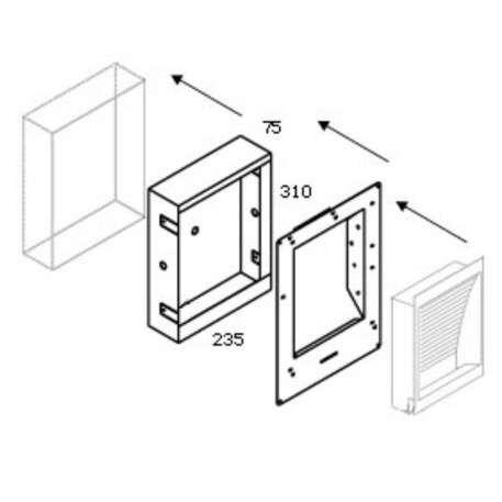 Delta-Light-Betonboks-139-med-plasterkit