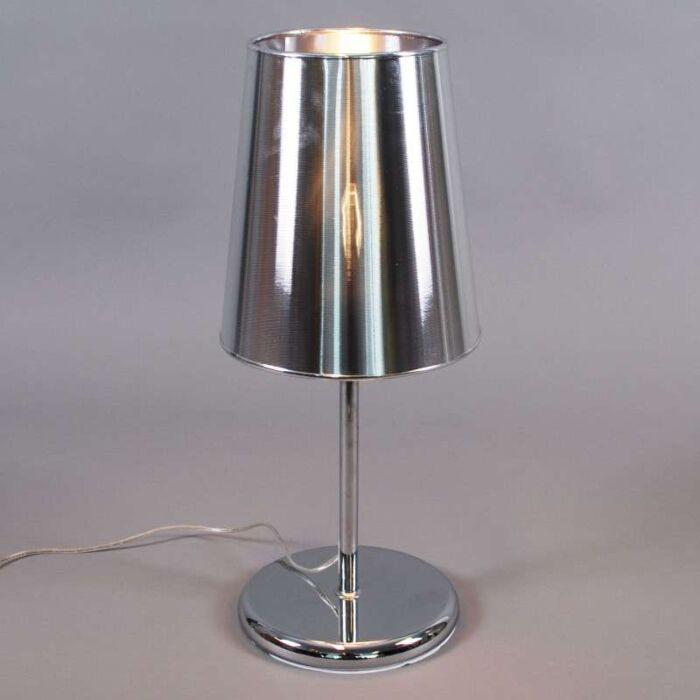 Bordlampe-Miracle-60-sølv