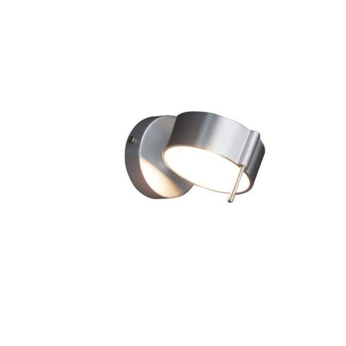 Væglampe-Eye-1-aluminium