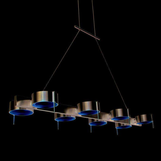Hængelampe-Eye-8-aluminium