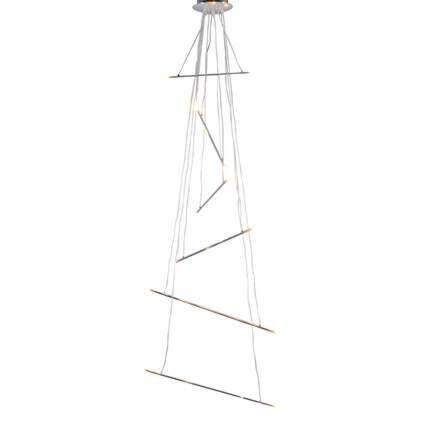 Hængelampe-Miko-krom